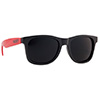 Okulary Majesty Shades L+ Black Red / Black Lenses